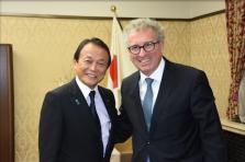 Pierre Gramegna au Japon