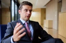 Damien Petit, senior investment advisor à la Banque de Luxembourg.