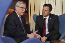 Jean-Claude Juncker et Xavier Bettel