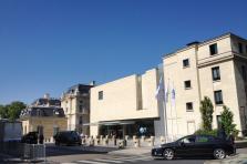 Le siège parisien de l'OCDE. Un des endroits les plus fermés de la planète pour une finance transparente.