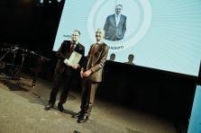Le jury 2014, présidé par Michel Wurth (à droite), avait désigné Pierre Ahlborn comme étant le plus influent.