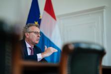 Pierre Gramegna évoque la possible arrivée d'une dizaine d'entreprises.