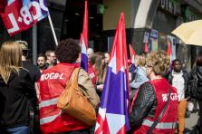 Grève des salarié de l'OGBL