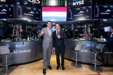 Xavier Bettel à Wall Street