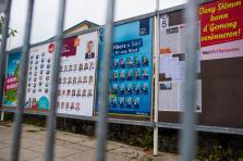 Affiches campagne électorale