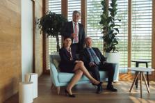 Rima Adas, John Parkhouse et Wim Piot