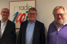 Michel Wurth (Chambre de commerce), Nicolas Schmit (ministre du Travail) et Jean-Claude Reding (Chambre des salariés).