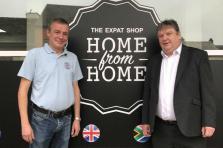 Mark Hollis et John Heffernan se sont associés pour ouvrir la boutique «Home from Home»