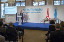 Carlo Thelen a vanté les mérites du Luxembourg via trois piliers: l'innovation, l'ouverture et la diversification.