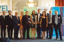 L'édition 2017 du Cyel avait récompensé Mathilde Argaud (au centre).