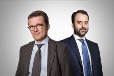 Philippe Depoorter (Banque de Luxembourg) et Hélie de Cornois (Degroof Petercam)