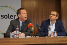 Paul Zeimet, secrétaire général de SEO, et Laurent Winkin, conseiller de direction de Soler
