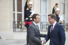 Emmanuel Macron / Xavier Bettel