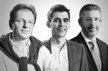 Ferdy Adam, Michel Geller et Serge De Cillia