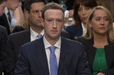 Mark Zuckerberg a du faire amende honorable mardi soir devant les sénateurs américains.
