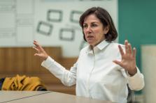 La directrice du Mudam, Suzanne Cotter, s'est exprimée sur les discussions autour de la Chapelle de Wim Delvoye.