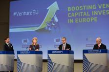 Au total, l'Union européenne espère mobiliser 6,5 milliards d'euros pour financer en capital ses entreprises innovantes.