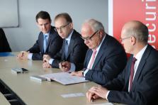 Le partenariat de recherche signé jeudi entre le SnT et Cebi s'étale sur une durée de quatre ans