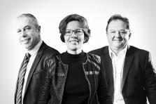 Patrick Hoffnung, Anne Hoffmann et Tom Billion