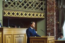 Xavier Bettel à la Chambre des députés