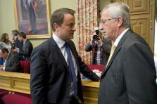 Xavier Bettel et Jean-Claude Juncker