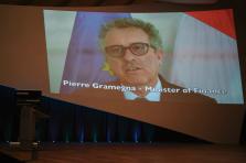 Pierre Gramegna, conférence Horizon de Deloitte.