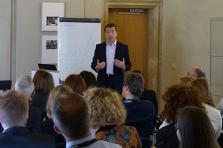 Laurent Annet en formation au Paperjam Business Club