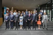 Pour le Luxembourg, étaient présents au Sommet intermédiaire des exécutifs de la Grande Région: Xavier Bettel, Corinne Cahen, ainsi que François Bausch.