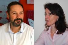 Christel Marguillard et Evelyne Sancho, spécialistes de la transformation digitale de la fonction RH au sein de Microtis
