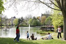 Le parc de Merl et son lac accueilleront prochainement une flotte de petits bateaux.
