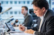 «La croissance luxembourgeoise se retrouve donc au même niveau quasiment que celui de la zone euro», note Serge Allegrezza, directeur du Statec.