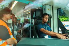 Les syndicats dénoncent les différences de traitement entre les employés Luxtram et ceux du service public.