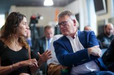 Laura Ferber et Nicolas Schmit