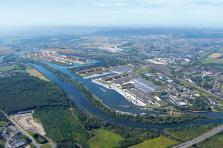 L'Europort, plateforme logistique et industrielle multimodale, possède plus de 200 hectares de foncier disponibles.