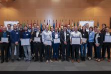 Les dix projets sélectionnés ont pu pitcher leur projet devant un jury composé d'experts, de relais partenaires et de sponsors.