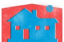 La hausse de l'impôt foncier devrait être l'un des outils mis en œuvre pour tenter de changer la donne en matière de logement, selon les principaux partis politiques.