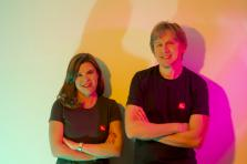 Polina Montano et Eugene Mizin, les créateurs de Job Today.