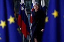 «C'est à la Première ministre de revenir avec des solutions», a déclaré le président français, Emmanuel Macron.