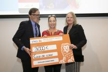 SOS villages d'enfants Monde compte parmi les associations lauréates d'un ING Solidarity Awards mercredi soir.