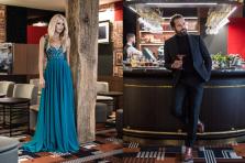 Ivana Larusson et Gabriel Boisante nous présentent un look pour les fêtes 2018.