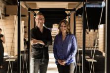 Florian Hertweck et Andrea Rumpf tirent un bilan très positif de l'exposition «The Architecture of the Common Ground».