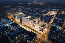 Le projet Royal-Hamilius à Luxembourg.