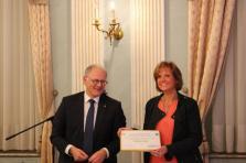 Caroline Bernier, administratrice déléguée de la société C. Concept, avait remporté le prix Upgrade en 2016, lors de la deuxième édition.