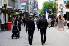 Le Luxembourg apparaît seulement en 21e position au classement de la société de conseil en immobilier Cushman & Wakefield, avec la Grand-Rue de la capitale.
