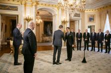 L'assermentation des membres de l'exécutif par le Grand-Duc a dominé l'actualité cette semaine.