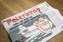 La une du dernier numéro du Feierkrop, sorti aujourd'hui.