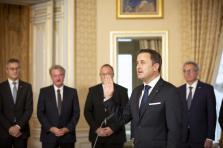 Prestation de Xavier Bettel, Premier ministre.