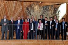 Le 16e sommet de la Grande Région s'est tenu au Biodiversum de Remerschen. L'occasion de transmettre la présidence du Luxembourg à la Sarre.