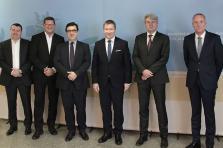 Première entrevue entre le ministre Marc Hansen et les représentants de la CGFP.