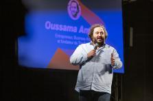 Oussama Ammar est notamment intervenu lors du premier événement des «Start-up Stories» en tant que keynote speaker.